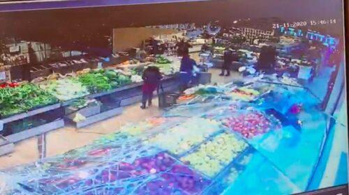 Mercato San Severino, cede pannello: tragedia sfiorata al supermercato