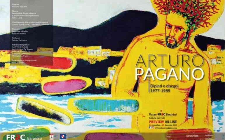 A Baronissi sabato l'inaugurazione della mostra di Arturo Pagano