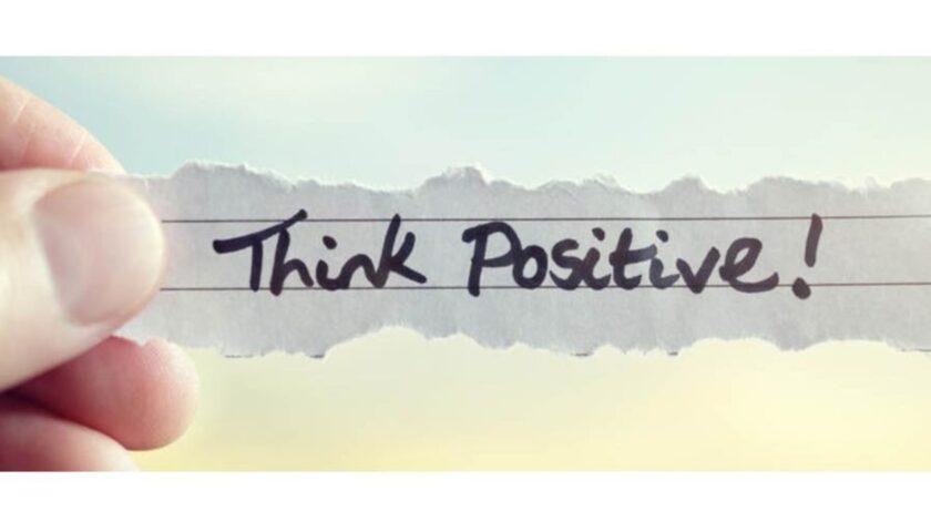 Pensare positivo nonostante tutto