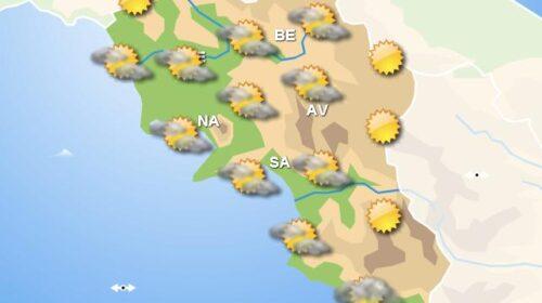 Meteo fine settimana, in Campania sabato e domenica con cielo prevalentemente sereno