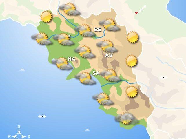 Meteo domani, in Campania cielo prevalentemente sereno