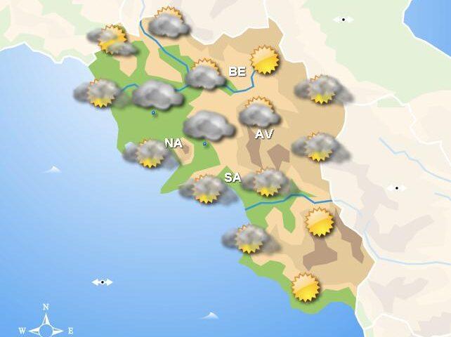 Meteo domani, in Campania giornata caratterizzata dalle nubi