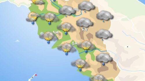 Meteo domani, in Campania pioggia e schiarite