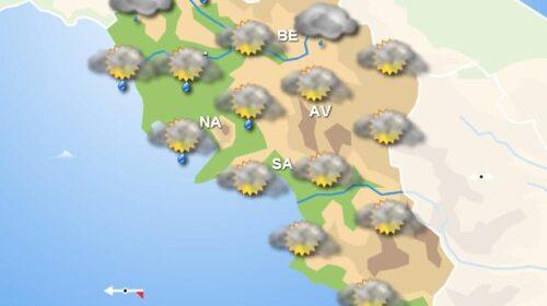 Meteo domani, in Campania pioggia dal mattino