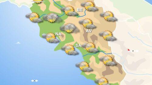 Meteo domani, in Campania tempo asciutto con nuvolosità in serata