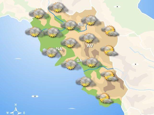 Meteo domani, tempo stabile in Campania per tutta la giornata