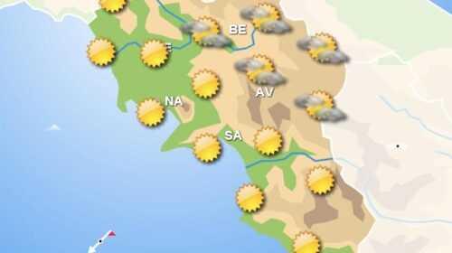 Meteo domani, in Campania giornata di sole