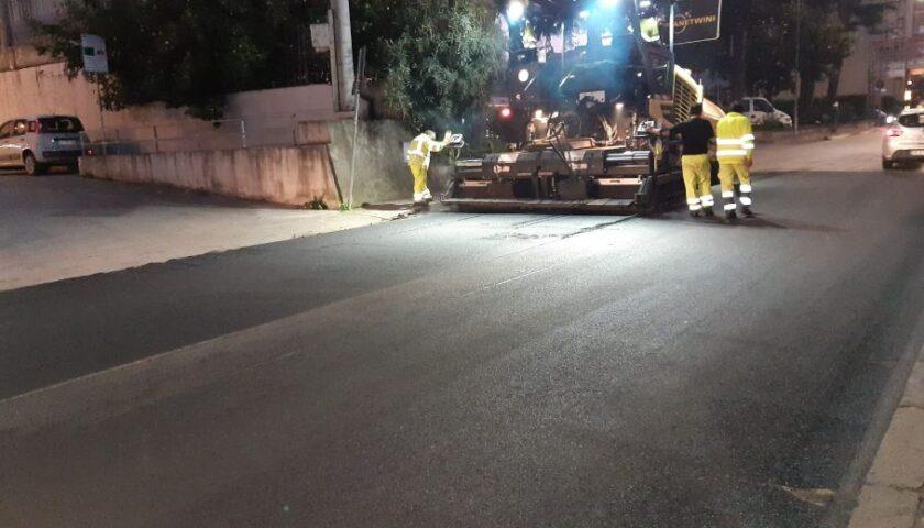 Roccapiemonte, sulla SP 107 quasi ultimati i lavori di messa in sicurezza