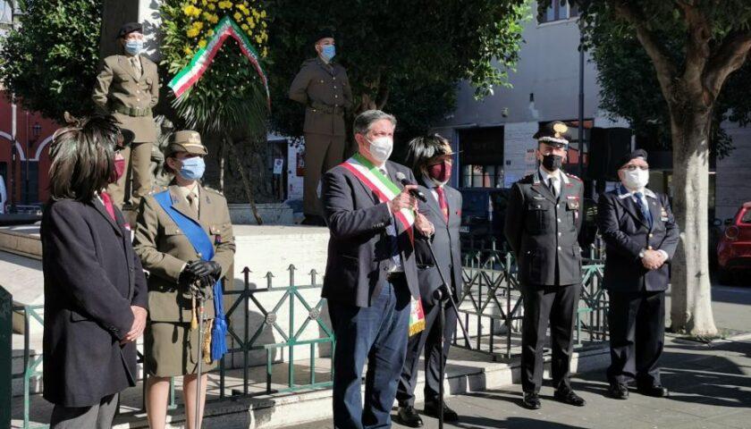 Nocera Inferiore, 4 Novembre: celebrazione in Piazza Trieste e Trento