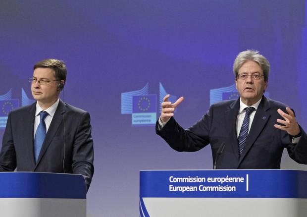 Ue: ok bozza bilancio Italia ma alcune misure non coperte