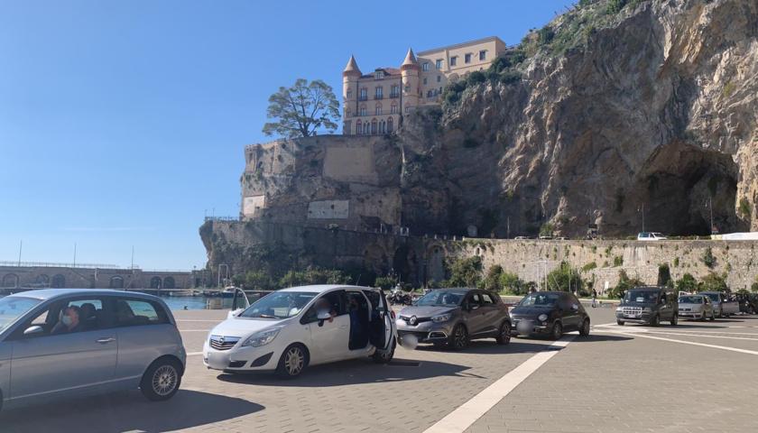 USCA Costa d'Amalfi, al porto di Maiori tamponi per 36 cittadini di Ravello e 10 di Scala