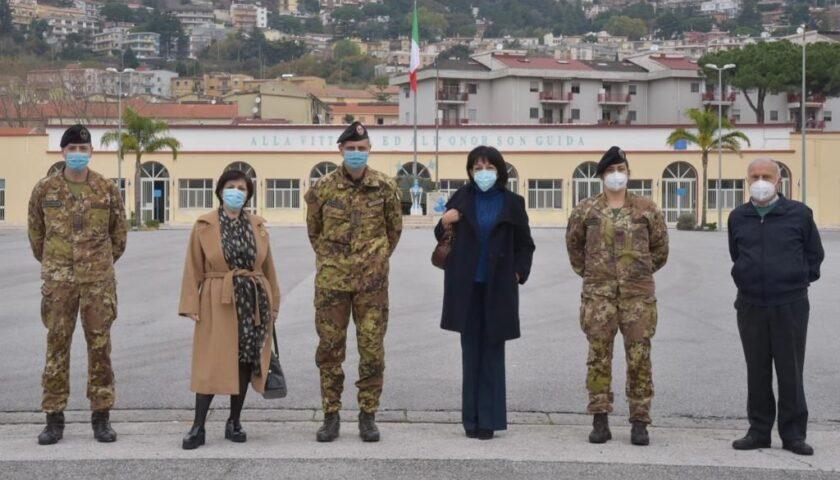 L'Esercito dona materiale sanitario a Salerno