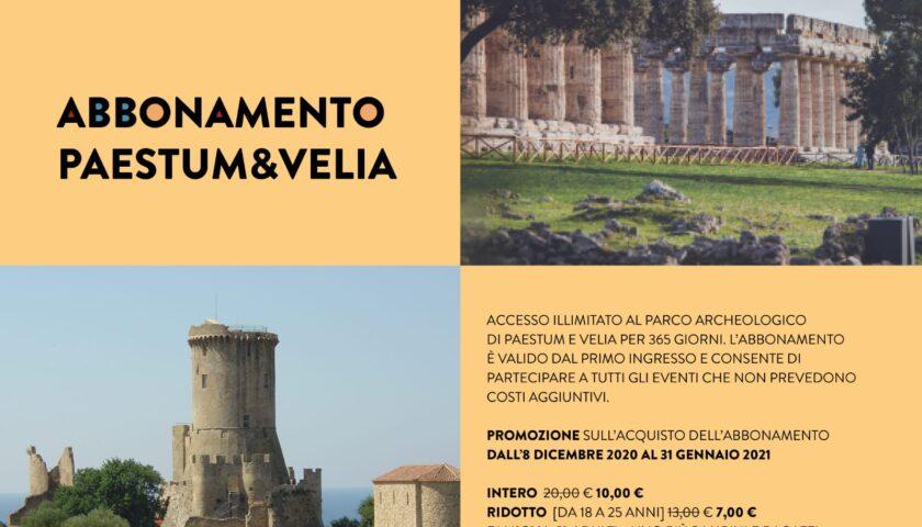 Natale, regala l'abbonamento Paestum&Velia a soli 10 euro