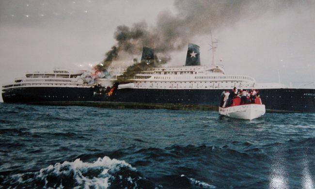 """Accadde oggi: il 2 dicembre del 1994 inghiottita dal mare somalo la gloriosa nave da crociera """"Achille Lauro"""""""