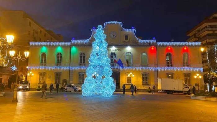 Un albero in ogni quartiere di Nocera Inferiore per Natale