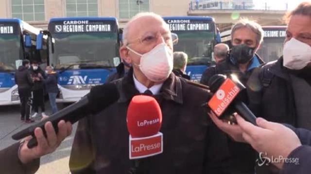 Aumenti dei contagi in Campania, De Luca verso una nuova ordinanza restrittiva