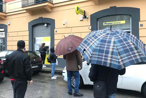 Ritornano alla normalità venti uffici postali nel Salernitano
