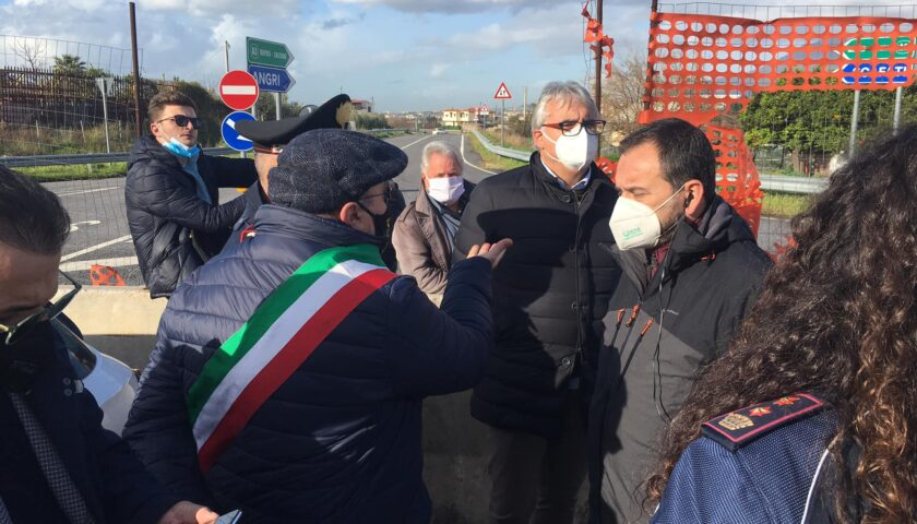 """Chiusura del casello di Angri Nord, monta la protesta del sindaco Ferraioli: """"Un sopruso"""""""