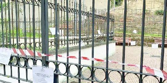 """Sotto sequestro a Salerno il vialetto di accesso al parco """"Scocozza"""""""