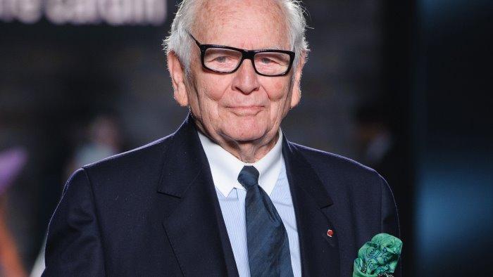Moda a lutto, muore lo stilista Pierre Cardin