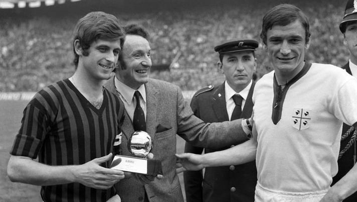 """Accadde oggi: il 23 dicembre 1969 il """"golden boy"""" Rivera primo italiano a vincere il Pallone d'Oro"""