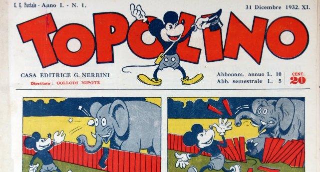 """Accadde oggi: il 31 dicembre 1932 esce in Italia il primo numero di """"Topolino"""""""