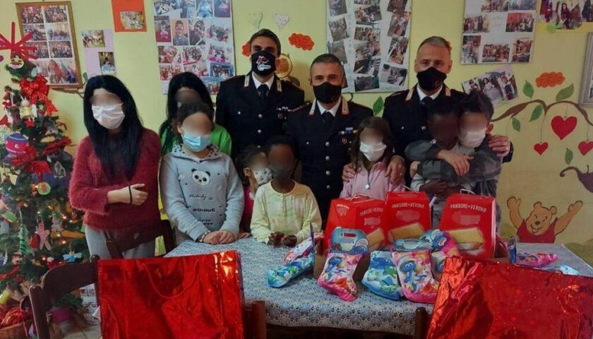 """Agropoli, dai carabinieri doni per la casa famiglia """"Il Germoglio"""""""