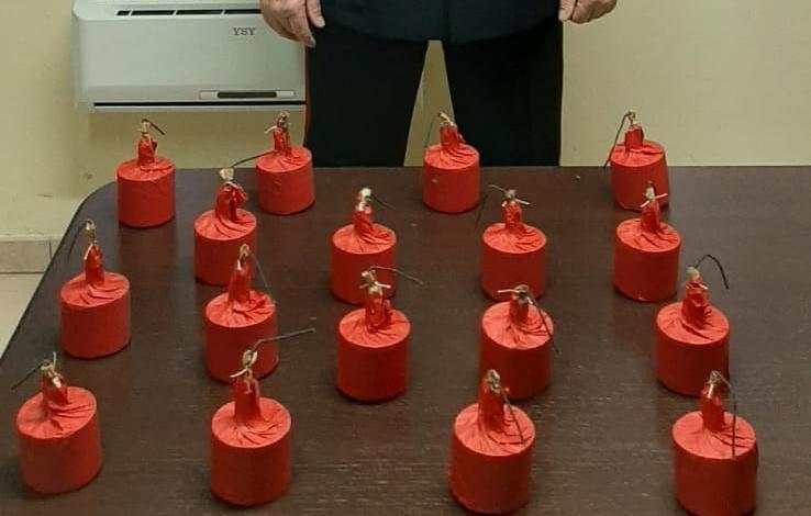 Battipaglia, 20enne trovato in auto con 17 bombe carta