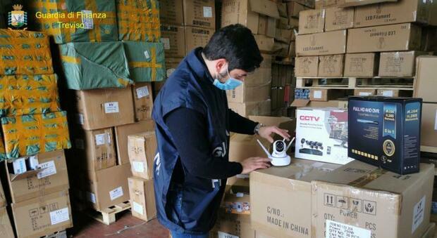 Scafati, sequestro per 10 milioni di euro di prodotti pericolosi provenienti dalla Cina