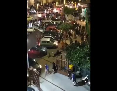 Maxi rissa di Natale a Ercolano nonostante il lockdown: indignazione social