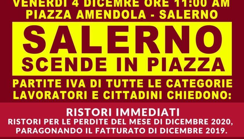 """""""Ci hanno tolto tutto"""", domani Salerno scende in piazza"""