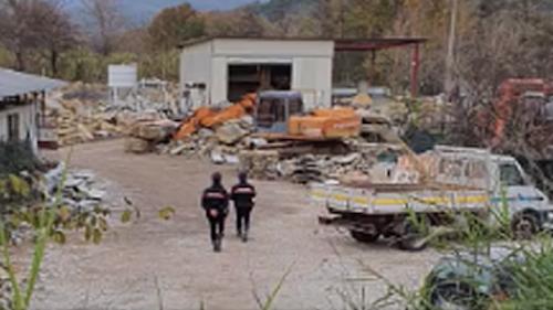 Sversamenti illeciti nel fiume Testene, nei guai imprenditore cilentano
