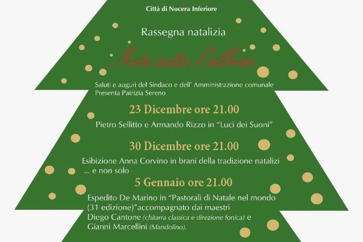 """Nocera Inferiore: la rassegna natalizia """"Note sotto l' albero"""", riapre il Teatro Comunale Diana"""