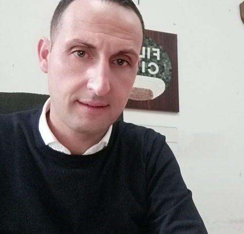 """Apertura del cantiere Asi aSalerno, il messaggio di Giuseppe Vicinanza (Filca Cisl Salerno): """"Opere importanti per il nostro territorio""""."""
