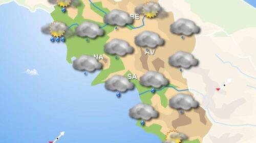 Meteo domani, in Campania piogge in tutti i settori