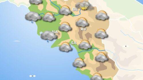 Meteo domani: in Campania pioggia in mattinata e nel pomeriggio, miglioramento in serata