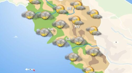 Meteo domani, in Campania cielo con nuvolosità irregolare