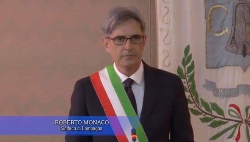 A Campagna dopo l'assessore Naimoli positivo al covid anche il sindaco Monaco