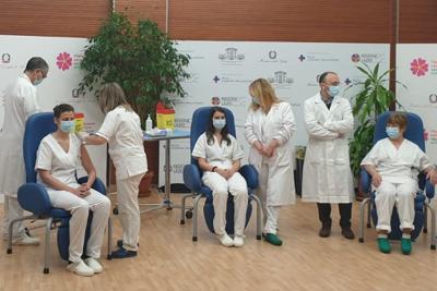 Partita allo Spallanzani la campagna di vaccinazione contro il covid