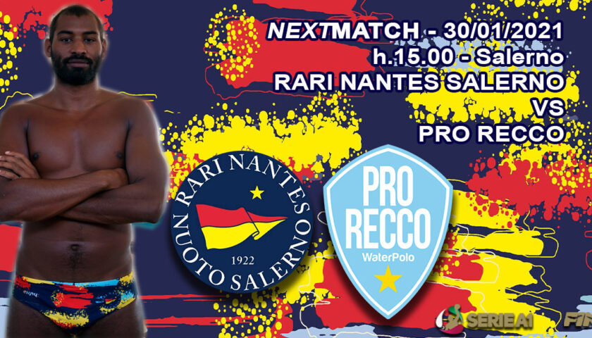 La Rari Nantes Salerno chiude la regular season contro la Pro Recco