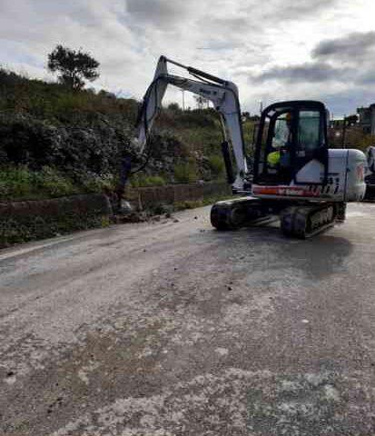 Lavori sulla ex 447 tra Pisciotta e Caprioli: strada chiusa