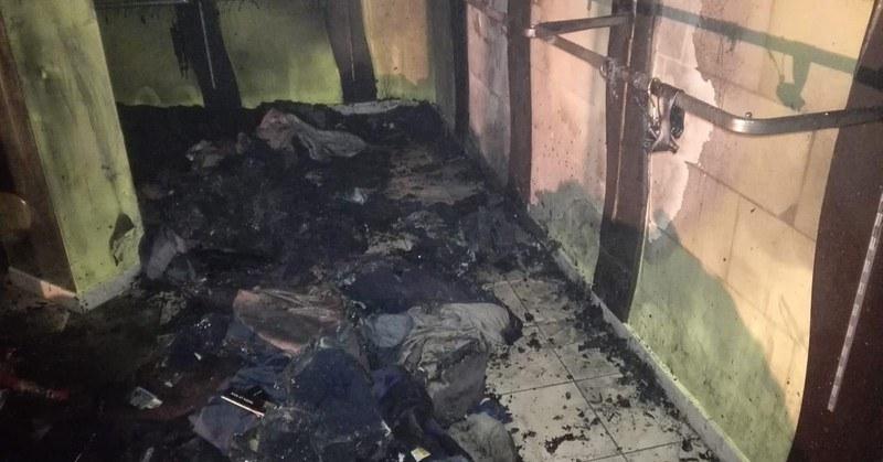 A Vallo della Lucania a fuoco negozio di abbigliamento
