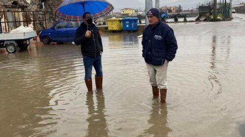 """Maltempo ad Angri, allagamenti in zona Avagliana. Il sindaco: """"Da soli non possiamo farcela"""""""