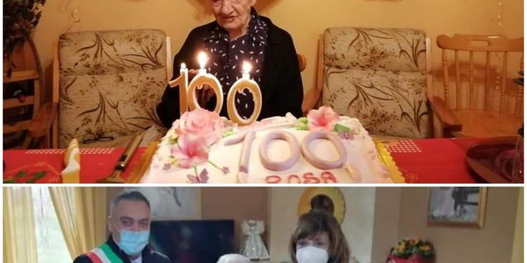 Buonabitacolo festeggia il centenario di due nonnine