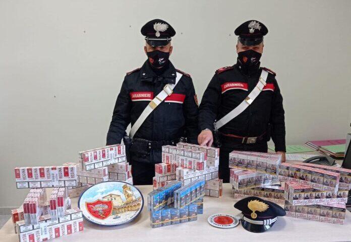 Salerno, sequestrati a Giovi 9 kg di sigarette di contrabbando
