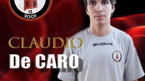Claudio De Caro è un nuovo giocatore dell'Alma Salerno