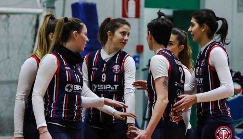 Pallavolo, Serie B2 femminile: la P2P batte Nola 3-0
