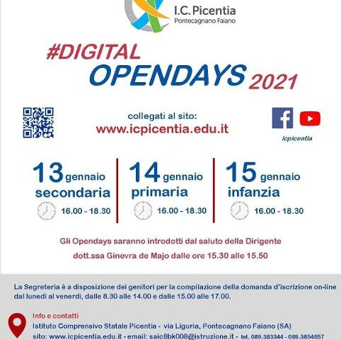 Ic Picentia, al via i Digital Open days