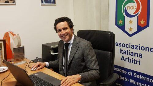 Sezione Arbitri di Salerno, il presidente Roberto Ronga eletto per il secondo mandato