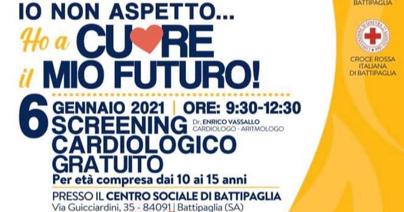 A Battipaglia screening cardiologico gratuito per ragazzi